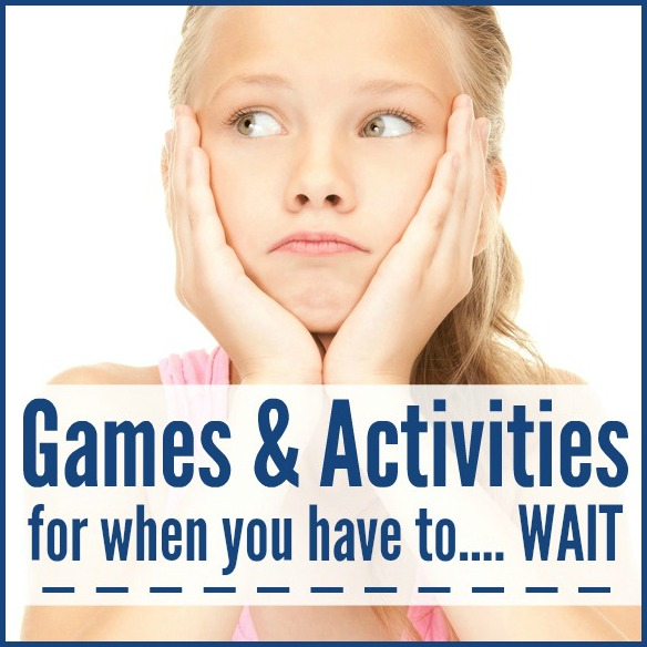 Games & Activities for When You Have to Wait